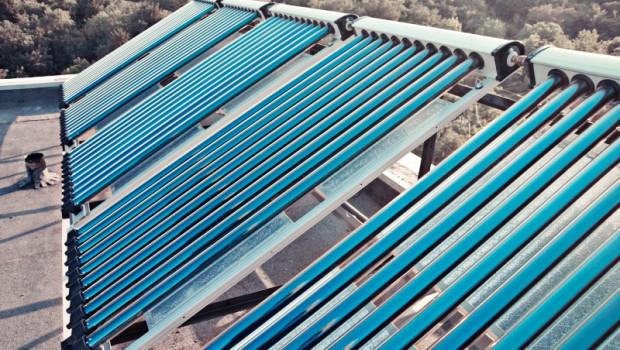 Impianto solare termico sul tetto